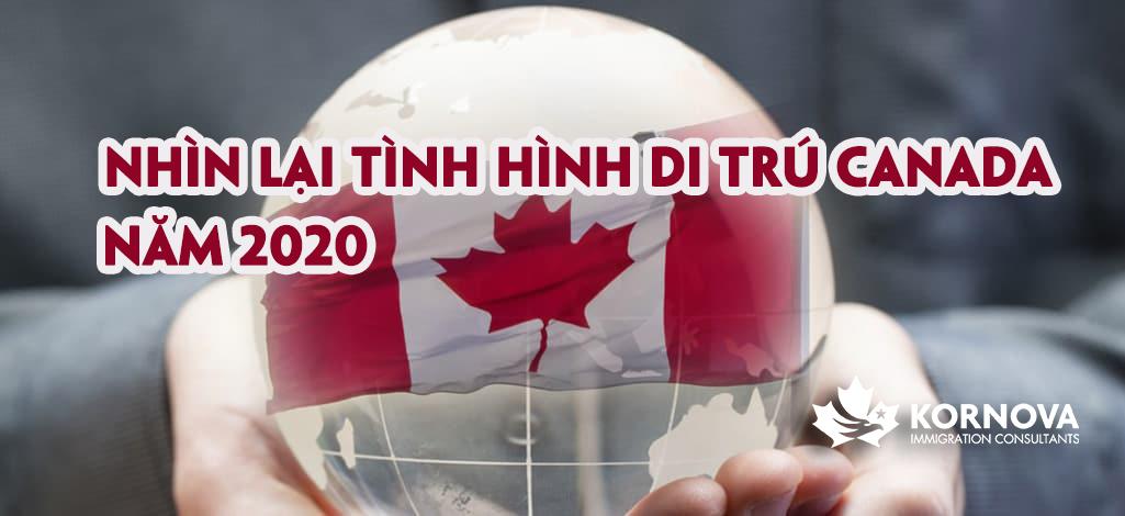 Tổng Kết Tình Hình Di Trú Canada Trong Năm 2020