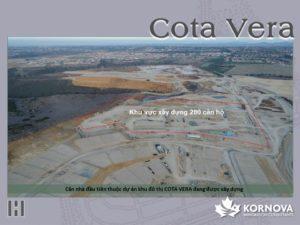 Dự Án Cota Vera - Cập Nhật Tiến Trình Xây Dựng Tháng 01/2021
