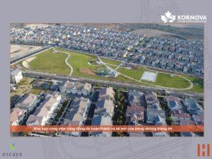 Dự Án Khu Đô Thị Escaya Cập Nhật Tiến Trình Xây Dựng Tháng 01/2021