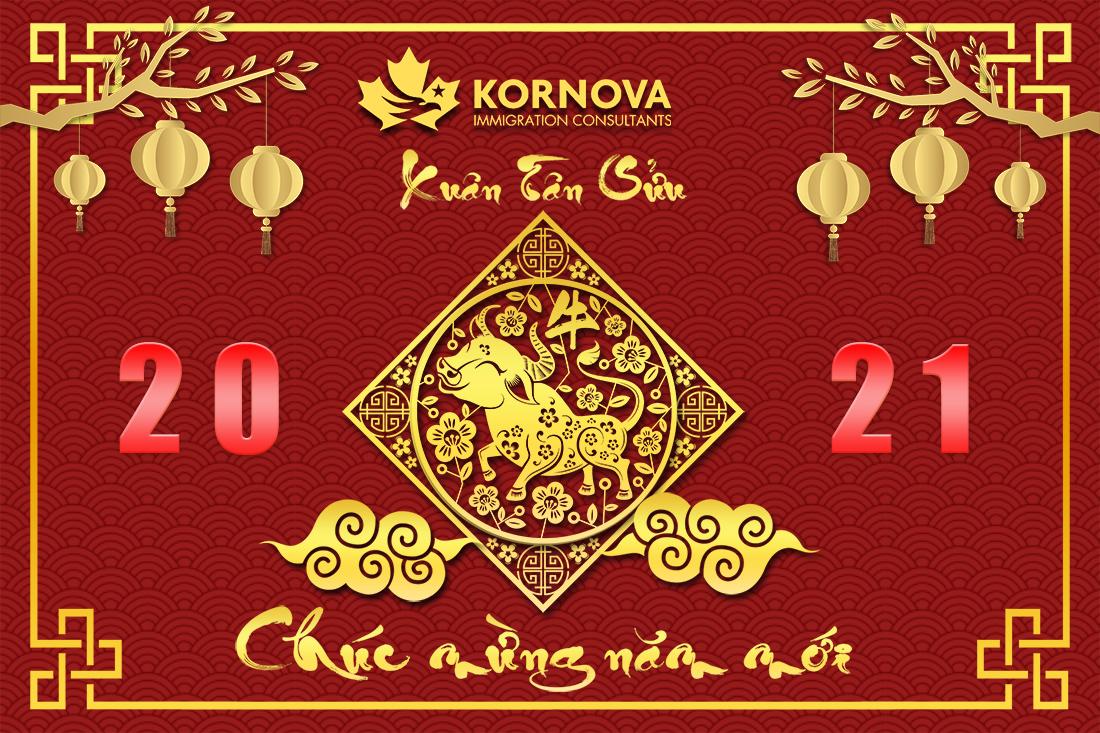 Thông Báo Về Lịch Nghỉ Lễ Tết Nguyên Đán Của Văn Phòng Kornova Việt Nam