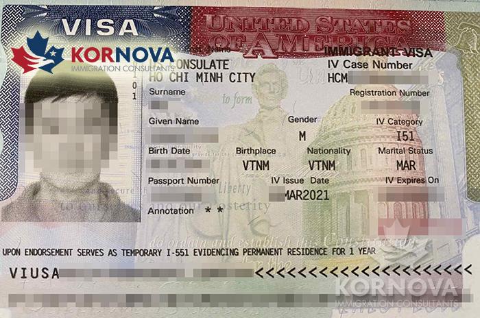 Khách Hàng EB-5 Kornova Nhận Visa Định Cư Mỹ Trong Tháng 03/2021
