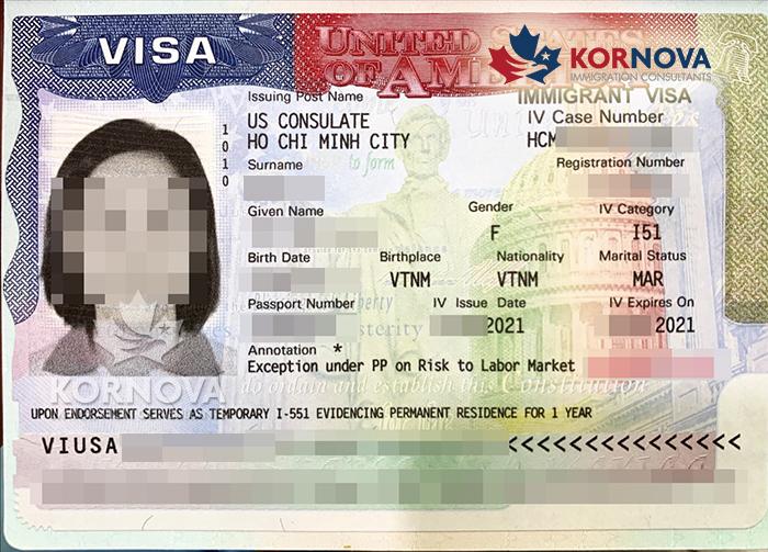 Chúc Mừng Các Khách Hàng EB-5 Kornova Nhận Visa Định Cư Mỹ Tháng 02/2021
