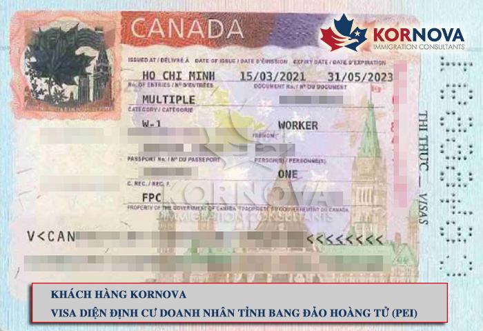 Chúc Mừng Khách Hàng Kornova Nhận Thư Đề Cử Tỉnh Bang Và Visa Chương Trình Định Cư PEI - Canada