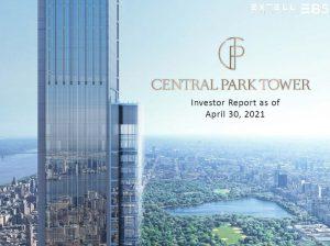 Cập Nhật Xây Dựng Dự Án EB5 Central Park Tower Tháng 04/2021