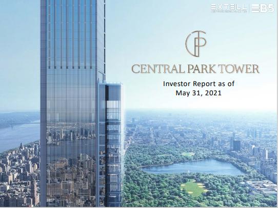 Cập Nhật Xây Dựng Dự Án EB5 Central Park Tower Tháng 05/2021