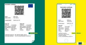 Chi Tiết Về Hộ Chiếu Covid-19 Của Liên Minh Châu Âu (EU)