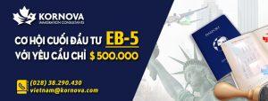 Dự Đoán Chương Trình EB5 Trung Tâm Khu Vực Gia Hạn Trong Tháng 9 Và Tạm Giữ Mức Đầu Tư 500.000 USD